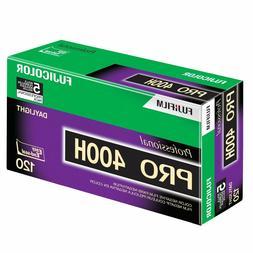 5 Rolls Fuji Color Pro 400H ISO 400 120 Color Negative Film,