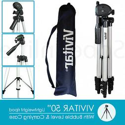 "50"" Travel Tripod for Canon Nikon Sony Panasonic Pentax Fuji"