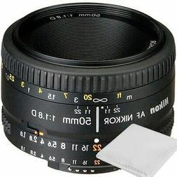 Nikon 50mm f/1.8D AF Nikkor Lens for Nikon Digital SLR Camer