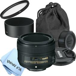 Nikon 50mm f/1.8G AF-S NIKKOR Lens for Nikon Digital SLR Cam