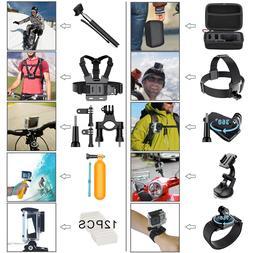 GoPro Accessories Hero 8 7 6 5 4 3 2 1 Bundle Camera Outdoor