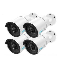 5MP PoE IP Security Camera Clear Night Vision Audio Outdoor