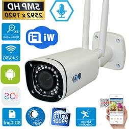 5MP Wireless WIFI Camera 5X Motorized Optical Zoom IP Microp