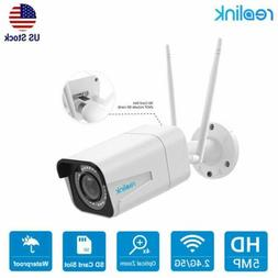 5MP Wireless WiFi Security Camera 4x Optical Zoom SD Card Sl