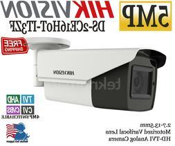 Hikvision 5MP HD Analog Bullet Varifocal Motorized Camera DS