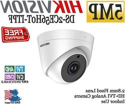HIKVISION 5MP Indoor Dome Camera2.8mm HD Analog TVI/AHDD