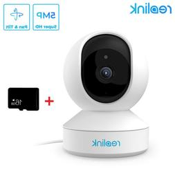 5MP PTZ WIFI Security Camera 3X Optical Pan Tilt 2-way Audio