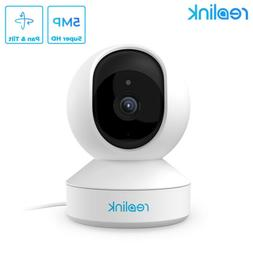 Reolink 5MP WiFi PTZ Security Camera 3X Optical Zoom Pan Til