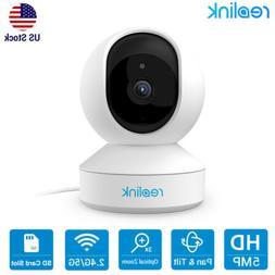 5MP WiFi Security Camera PTZ Pan Tilt  Zoom 2-Way Audio Baby