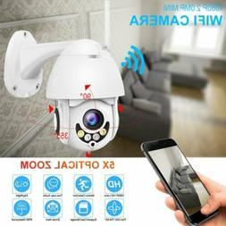 5X Zoom/Optical 1080P HD Wifi Camera Outdoor IP Wireless Sec