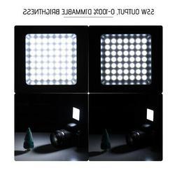 6000K Mini 49pcs LED Video Light Lamp Panel for DSLR Camera