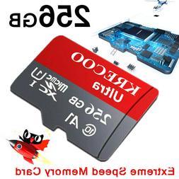 64GB 128GB 256GB Micro Memory Card Class10 Fast Flash TF Cam