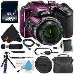 6Ave Nikon COOLPIX B500 Digital Camera  + 128GB SDXC Class 1