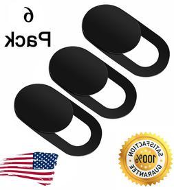 6pc Webcam Cover Slim Slider Camera Shield Privacy Protect S