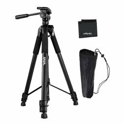 "UltraPro 72"" Heavy Duty Aluminum Camera Tripod Bundle For Ca"
