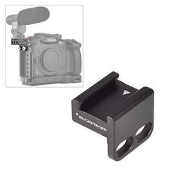 90 Degree Cold Shoe Mount Adapter for Camera Cage/Top Plate/