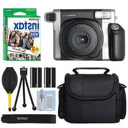 Fujifilm - Instax Wide 300 Instant Film Camera - Black