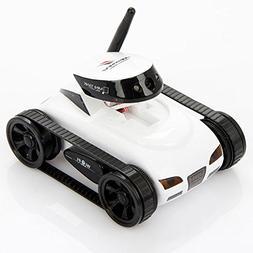 I_spy Mini Wilreless Spy Tank Rc Car with 0.3mp Hd Camera (W