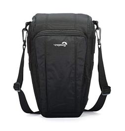 Lowepro Toploader Zoom 55 AW II Camera Case for DSLR and Len