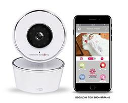 Project Nursery - Wi-Fi 720p Video Baby Monitor - White