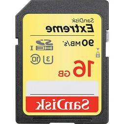 Sandisk 16G extreme V10 K-5 4K HD SD card for Pentax K-70 K7
