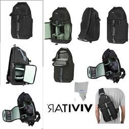 Travel Camera Bag Case Backpack for DSLR SLR Canon EOS NIKON