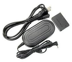 AC Adapter Kit ACK-E12 + DC Coupler DR-E12 for Canon EOS-M,