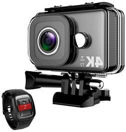 TEC.BEAN 4K Action Camera WiFi 14MP Ultra HD Waterproof Spor