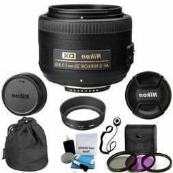 Nikon AF-S Nikkor 35mm f/1.8G DX Lens for Nikon DSLR Cameras