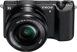 Sony Alpha A5100 24.3MP Digital SLR Camera with E PZ OSS 16-