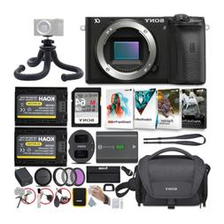 Sony Alpha a6600 APS-C Mirrorless Camera  with Accessories B