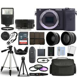 Sony Alpha a6600 Camera Body Black + 3 Lens Kit 16-50mm OSS+
