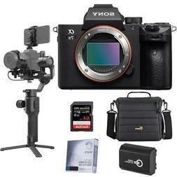 Sony Alpha a7 III 24MP UHD 4K Mirrorless Camera With Gimbal