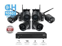 LOREX Audio Rechargeable Security Camera System 1TB Wireless