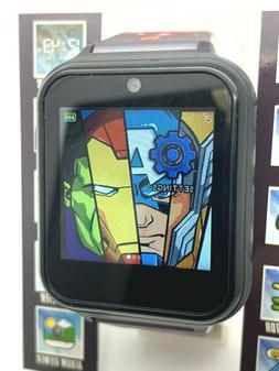 Avengers Interactive Kids Smart Watch Black 41mm Marvel Comi