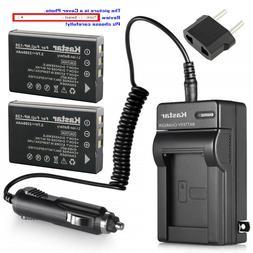 Kastar Battery AC Charger for PENTAX D-LI7 & PENTAX Optio MX