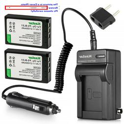 Kastar Battery AC Travel Charger for Olympus BLS-1 PS-BLS1 O