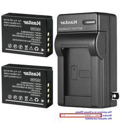 Kastar Battery AC Wall Charger for Fujifilm NP-W126 NP-W126s