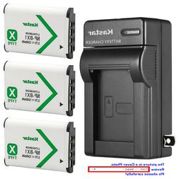 Kastar Battery AC Wall Charger for Sony NP-BX1 BC-CSX & Sony