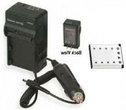 Battery + Charger for FUJI FujiFilm JV105 JV150 JX200