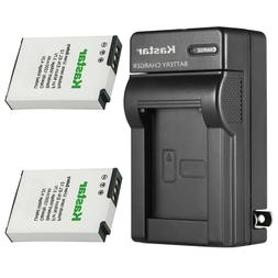 Kastar Battery + Charger for Nikon EN-EL12 Coolpix A900 A100