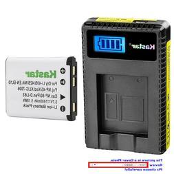 Kastar Battery LCD Charger for Olympus Li-42B Li-40B Olympus