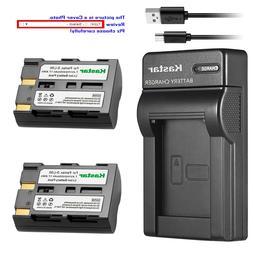 Kastar Battery Slim Charger for Konica Minolta NP-400 Maxxum