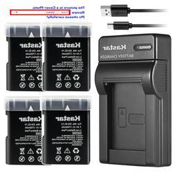 Kastar Battery Slim Charger for Nikon D5500 D5600 D3400 D350