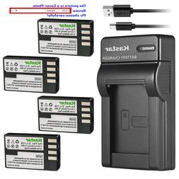 Kastar Battery Slim Charger for Pentax D-Li109 D-BC109 & Pen