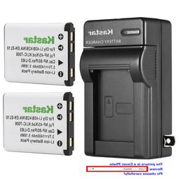 Kastar Battery Wall Charger for Olympus Li-40B Li42B & Olymp