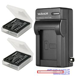 Kastar Battery Wall Charger for Pentax D-Li106 & PENTAX MX-1