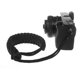Braided 550 Paracord Adjustable Camera Wrist Strap Bracelet