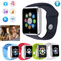 Bluetooth Smart Watch GSM Unlocked Sleep Monitor for Android