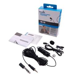 BY-M1 3.5mm Omnidirectional Lavalier Microphone for Canon Ni